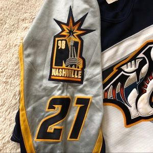 6903b05e Bauer Other | Authentic Vintage Nashville Predators Jersey | Poshmark